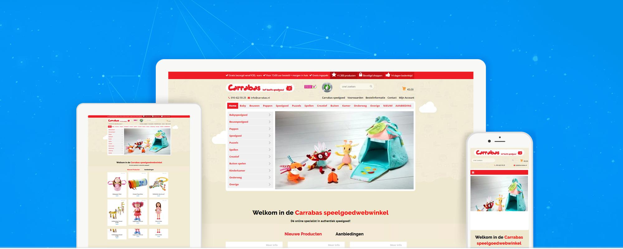 carrabasspeelgoedwinkel.nl-webshop