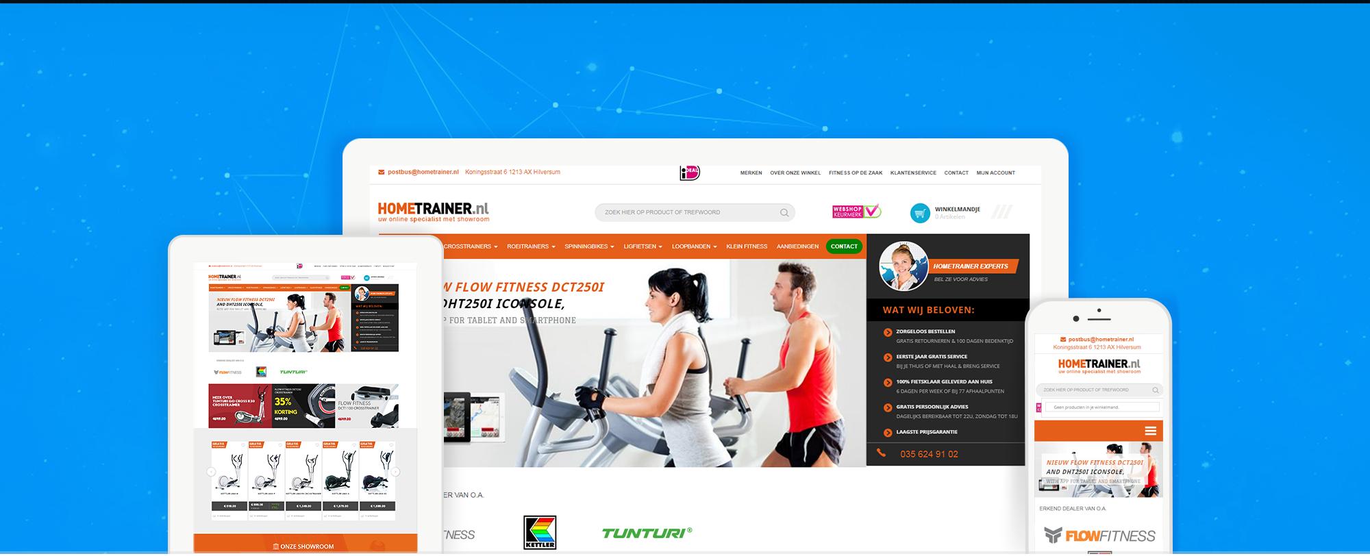 hometrainer.nl-webshop