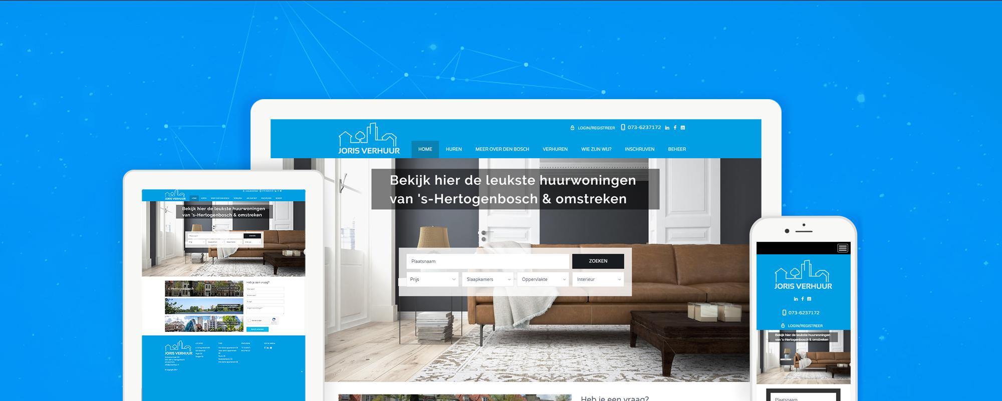 jorisverhuur.nl-website